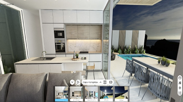 360 VR Tours: Bringing the Sumptuous Villa at Cape Kanapitsa Hotel & Suites to Life